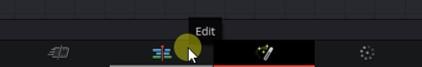 Edit tab davinci resolve